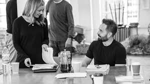 Jenkins Table L In Rehearsals With Alfie Boe And Katherine Jenkins For Carousel At