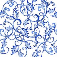 blue floral ornaments vector backgrounds 01 welovesolo