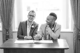 weddings registry lichfield uk intimate simplicity real lgbt wedding mrster