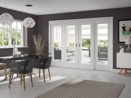 Dividing Doors Living Room by Oak Easi Slide Room Divider Door System