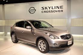 crossover nissan nissan unveils new skyline crossover with enhanced parking