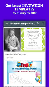 invitation templates android apps on google play