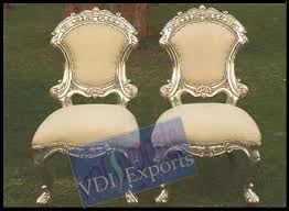 indian wedding chairs for and groom wedding silver furniture and indian wedding accessories