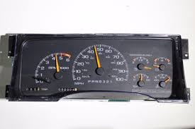 used chevrolet c3500 instrument clusters for sale