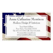 Standard Us Business Card Size American Flag Business Card Templates Standard Size Bizcardstudio