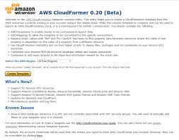 using cloudformer to create aws cloudformation templates from