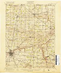 State Map Of Ohio by