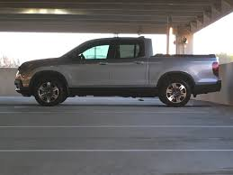 honda truck lifted leveling the 2017 ridgeline elimianting the