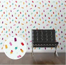 create a super stylish kid u0027s room 21 modern removable wallpaper ideas