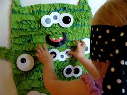 Halloween Monster Games by Amanda U0027s Parties To Go Guest Post Pin The Eye On The Monster Game