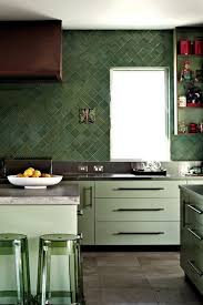 green tile kitchen backsplash 76 best backsplashes walls images on architecture