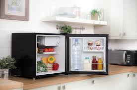 table top freezer glass door russell hobbs rhttlf1b black table top fridge 45 litre amazon co