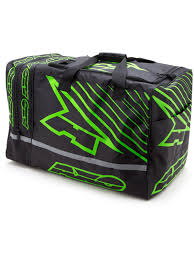 motocross gear canada axo black green 2017 weekender mx gear bag axo freestylextreme