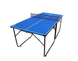 portable ping pong table amazon com ifoyo table tennis table 6ft midsize ping pong table 4