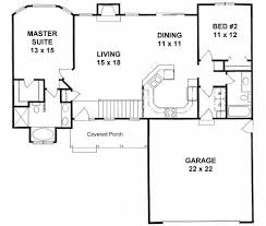 best 25 2 bedroom house plans ideas on small house - 2 Bedroom Ranch House Plans