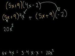 multiply polynomials by binomials ck 12 foundation