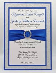 royal blue wedding invitations royal blue and silver wedding invitations plumegiant