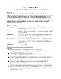 Resume Jobs Unix by Senior Linux Administrator Resume Free Resume Example And