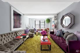 Living Room Furniture New York City The Living Room Walls Of Stylist Carlos Motas New York City Home