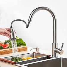 best stainless steel kitchen faucets best commercial lead free stainless steel kitchen faucet with pull