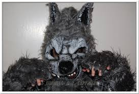 3 garnets u0026 2 sapphires scary child u0027s werewolf halloween costume