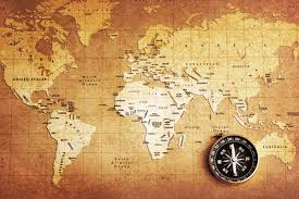 Old World Pictures by Old Compass World Map Wallpaper Wall Mural By Loveabode Com