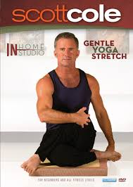 amazon com scott cole in home in studio gentle yoga stretch for