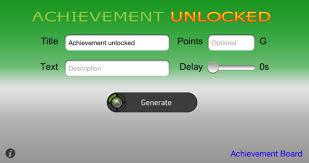 achievement generator xbox360 edition on the app store