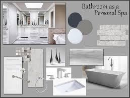 Interior Design Material Board by Bathroom Interior Designer Kansas City Design Connection Inc