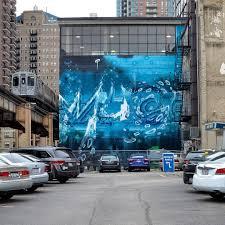 murals public arts chicago truborn amuse 126 for chicago truborn and wabash arts corridor photo by jeff mancilla