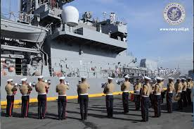 Flag Officer In Command Philippine Navy Photos Japanese Destroyer Welcomed By Philippine Navy Update