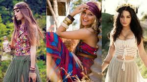 moda boho moda 2016 2017 boho chic estilos bohemios hippies