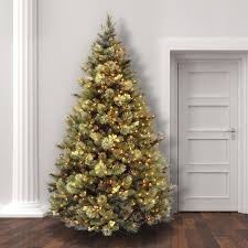 christmas tree with lights laurel foundry modern farmhouse pine artificial christmas tree with