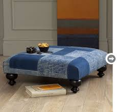 Blue Ottoman Coffee Table Buying Guide Ottomans Style At Home
