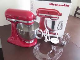 Used Kitchen Aid Mixer by Kitchenaid Artisan Ksm150 Stand Mixer Empire Red Used Once