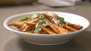 demeyere cuisine harissa and maple roasted carrots with demeyere
