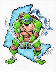 teenage mutant ninja turtles leonardo by charlesettinger on deviantart