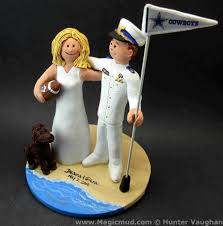 army cake toppers dress whites wedding cake topper