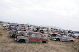 Vintage Ford Truck Junk Yards - vintage steel lives on at owens salvage in the heart of texas