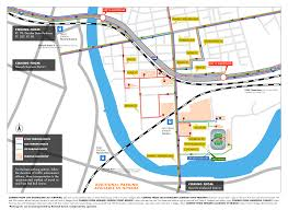 Permit Parking Chicago Map by Transportation Hub General Parking Map New York Red Bulls