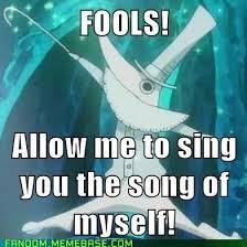 Soul Eater Excalibur Meme - excalibur in a nutshell geek universe geek fanart cosplay