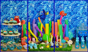 how to decorate for a birthday party at home finding dory party ideas
