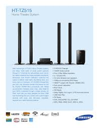 samsung home theater 5 1 download free pdf for samsung ht tz515t home theater manual