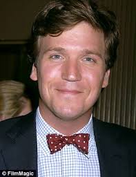 is tucker carlson s hair real tucker carlson has doubled megyn kelly s ratings daily mail online