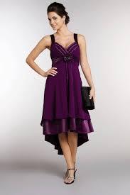 robe violette mariage robe mi longue mousseline et satin violet balkor du s au