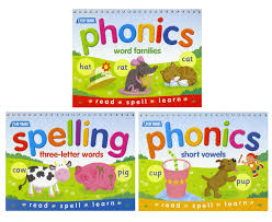scoopon shopping spelling u0026 phonics flip chart 3 book pack