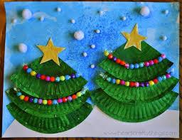 christmas tree art i heart crafty things