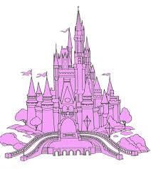 cinderella castle clipart clipart collection walt disney