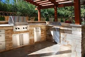 Outdoor Kitchen Designs  Ideas Landscaping Network - Backyard kitchen design