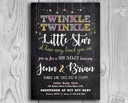 twinkle twinkle baby shower invitations twinkle twinkle printable baby shower invitation the